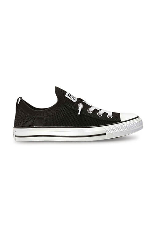 Converse CT Shoreline Knit Slip Black Side