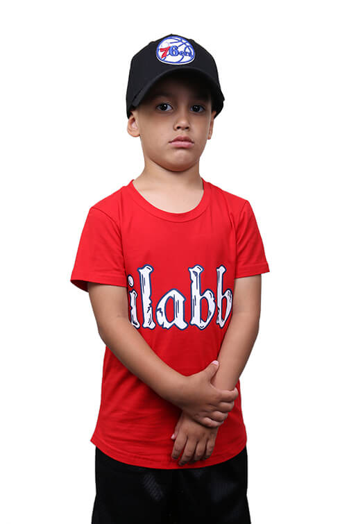Ilabb Toddler Bone Tee Red