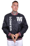 Lower Playmaker Varsity Jacket Black