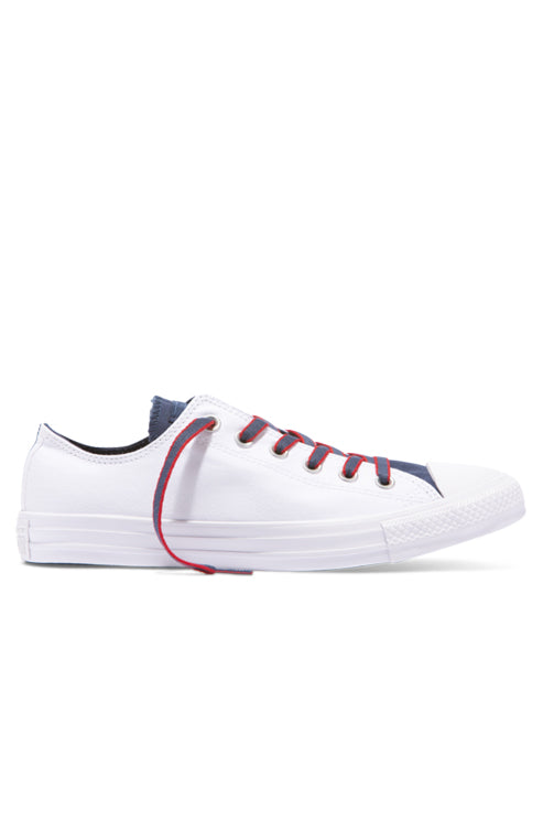 Converse CT Court Prep Block Lo White/Navy
