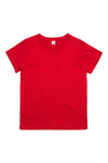 AS Colour Kids Tee Red