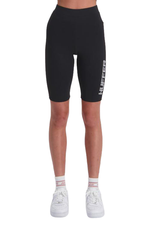 Huffer Womens Shift Bike Short Black Front