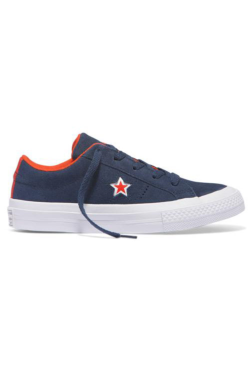 Converse Kid Molded Star Low Navy / White Side