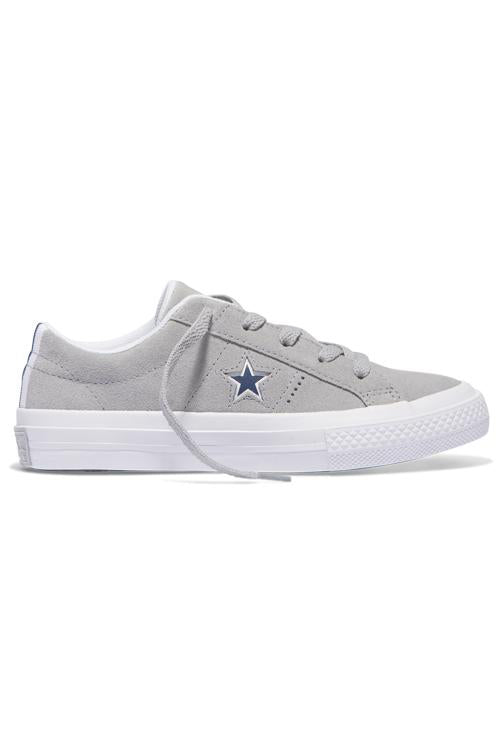 Converse Kid Molded Star Low Grey / White Side