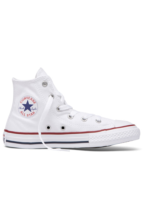 Converse Optical White Hi Youth Side