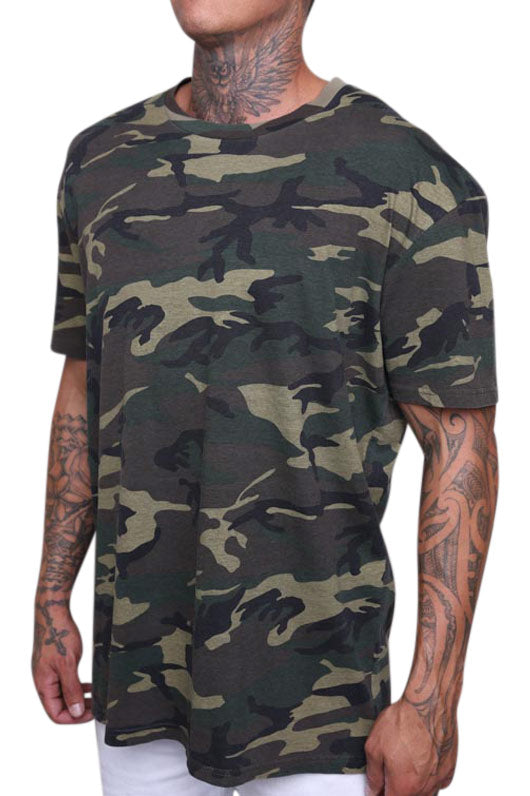 AS Colour Staple Tee Camo Angle