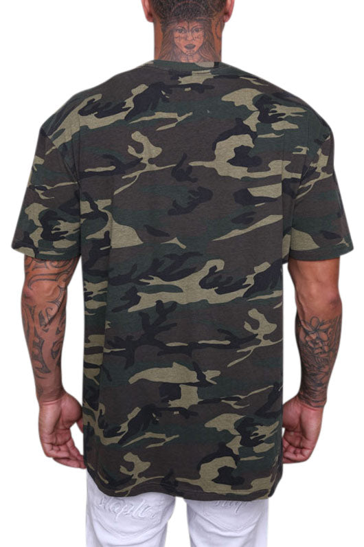 AS Colour Staple Tee Camo Back
