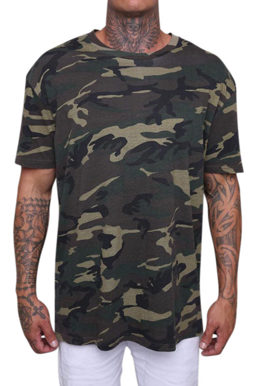 AS Colour Staple Tee Camo Front