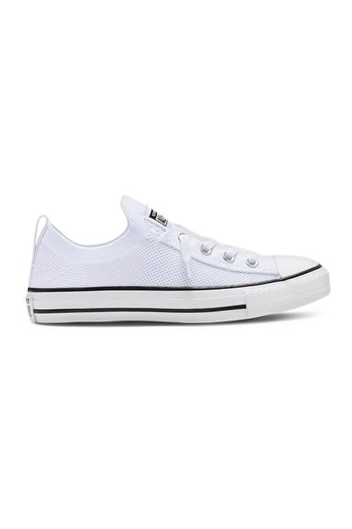 Converse CT Shoreline Knit Slip White Side