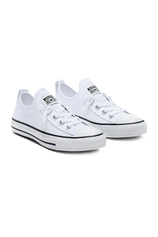 Converse CT Shoreline Knit Slip White Angle