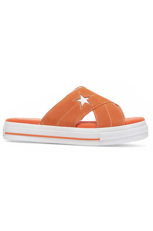 Converse Women One Star Sandal Sunflower Side