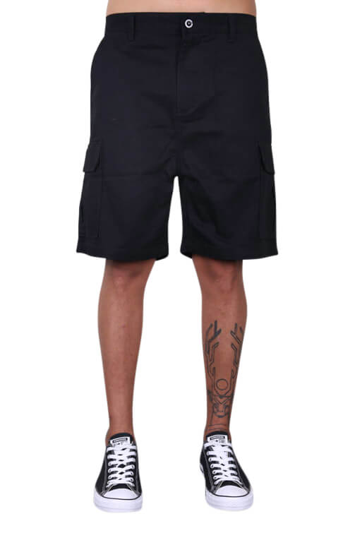 As Colour Cargo Short Black Front