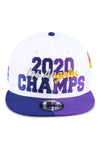 New Era 950 Los Angeles Co Champs White Snapback Fron