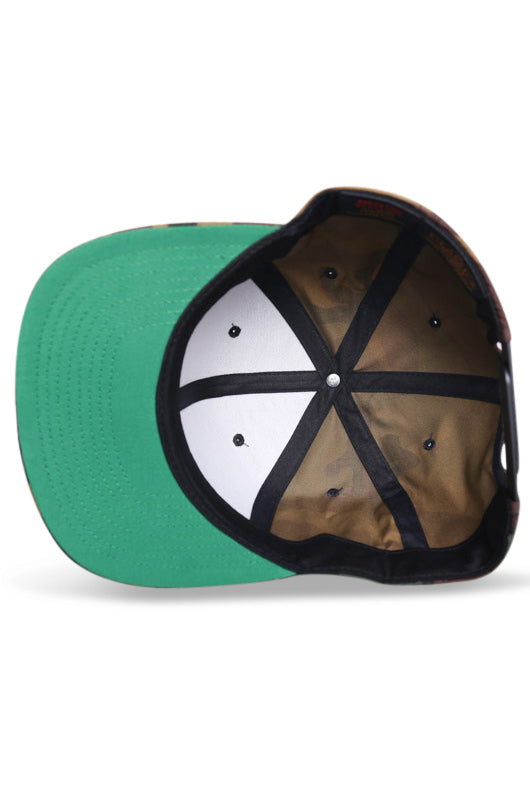 Flexfit Classic Green Camo Snapback Under