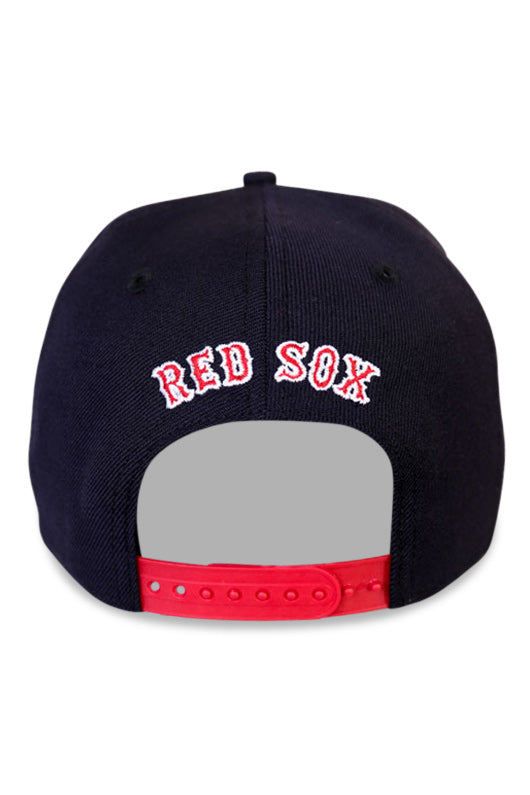 New Era Boston Red Sox Navy Snapback Back