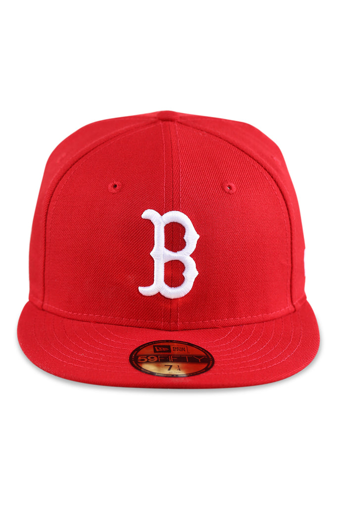 New Era 5950 Red Sox Scarlet
