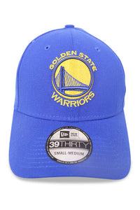 New Era 3930 GS Warriors Light Royal Gold Front