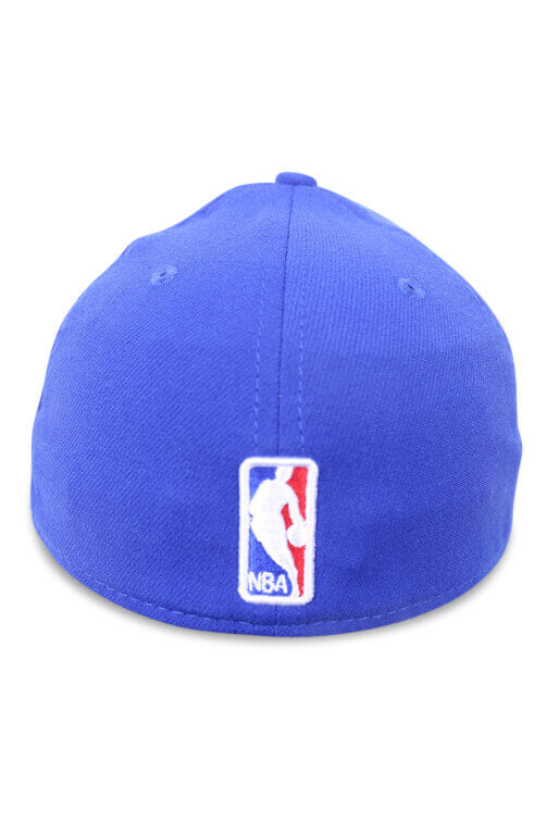 New Era 3930 GS Warriors Light Royal Gold Back