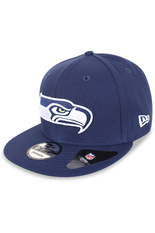 New Era 950 Seattle Seahawks Blue Snapback Angle
