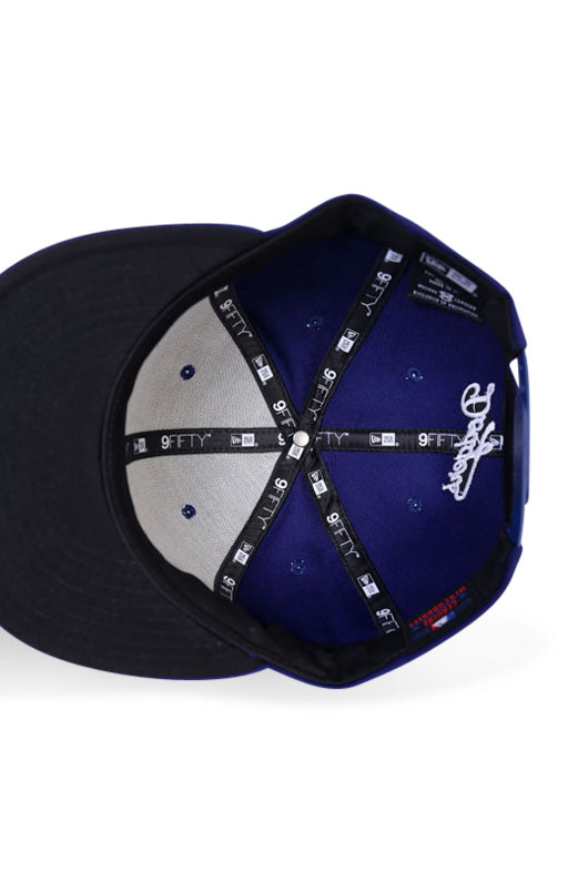 New Era 950 LA Dodgers Dark Royal Snapback Under