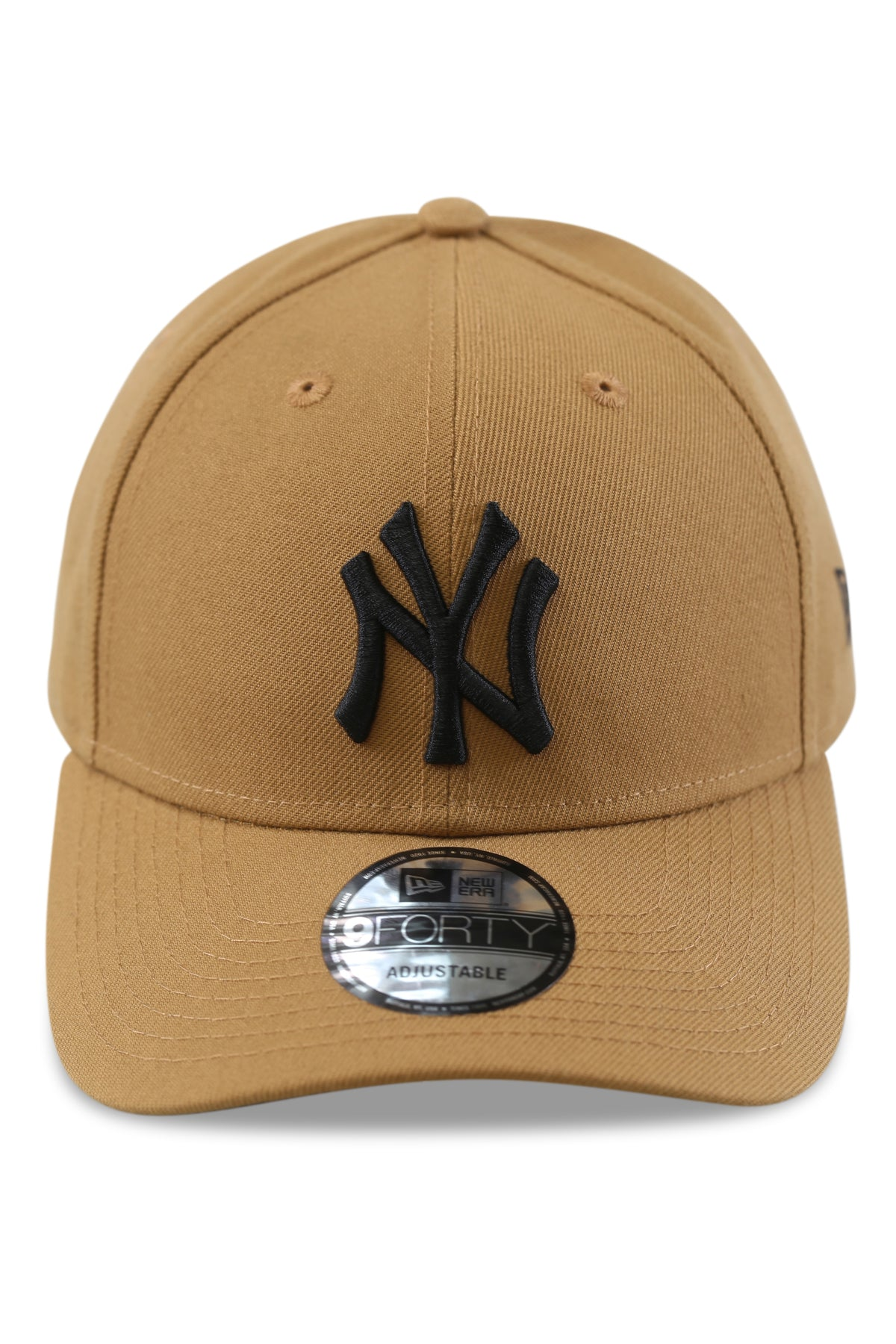 New Era 940 NY Wheat/Black Snapback Front