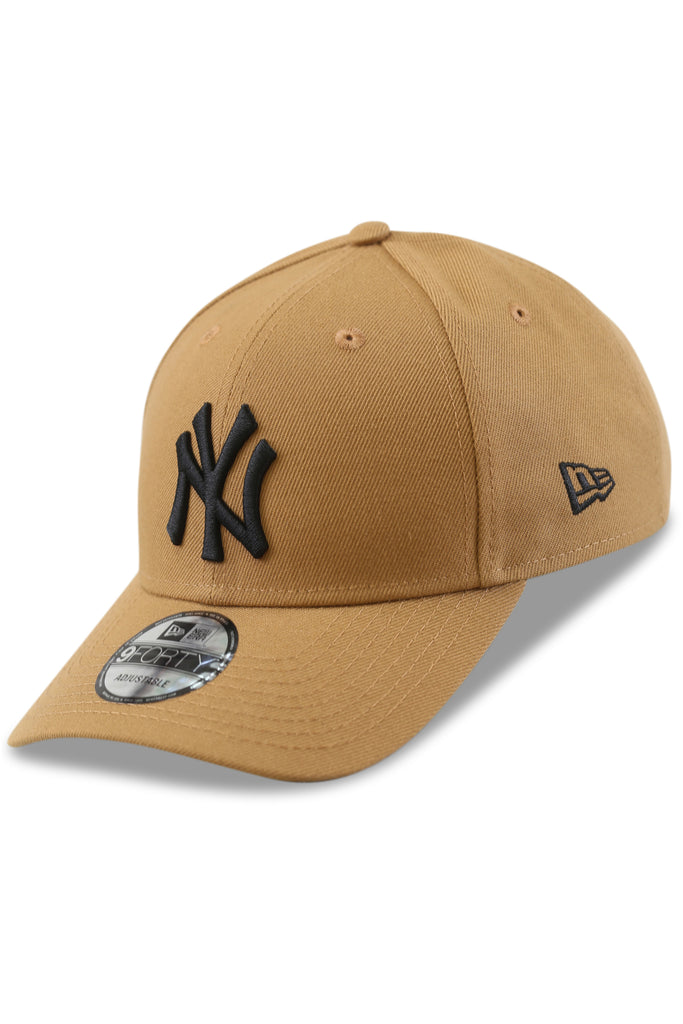 New Era 940 NY Wheat/Black Snapback Agnle