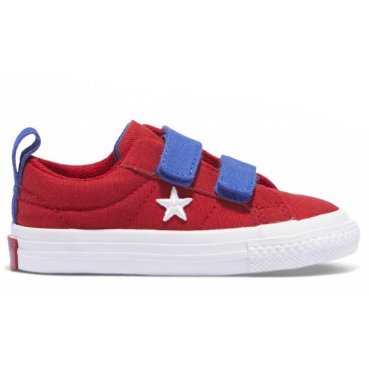 Converse Infant One Star 2V Gym Red Side