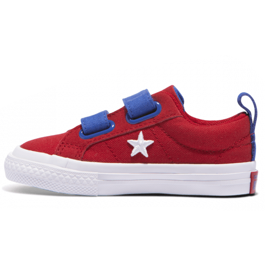 Converse Infant One Star 2V Gym Red Reverse