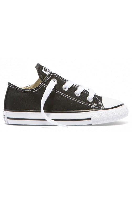 Converse Low Black Infant Side