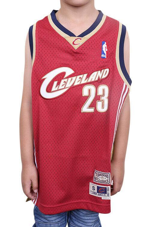Outerstuff James 03-04 HWC Swingman Jersey Red