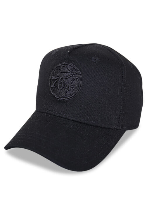 Outerstuff Warriors Black Logo Snapback Angle