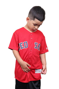 Outerstuff Red Sox Alt 1 Replica Team Blank Back Red