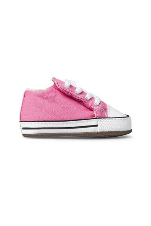 Converse Toddler CT Cribster Mid Pink Side