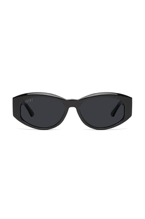 9Five Sunglasses - Capital Black and Gold Front