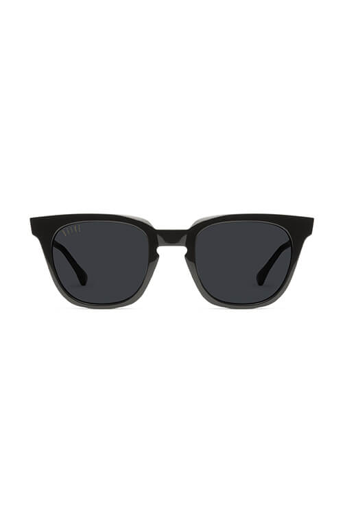 9Five Sunglasses - Dean Black Front