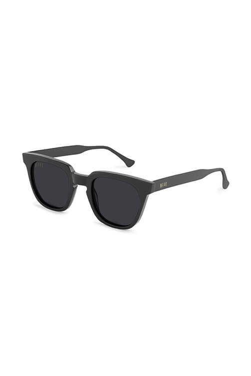 9Five Sunglasses - Dean Black Angle