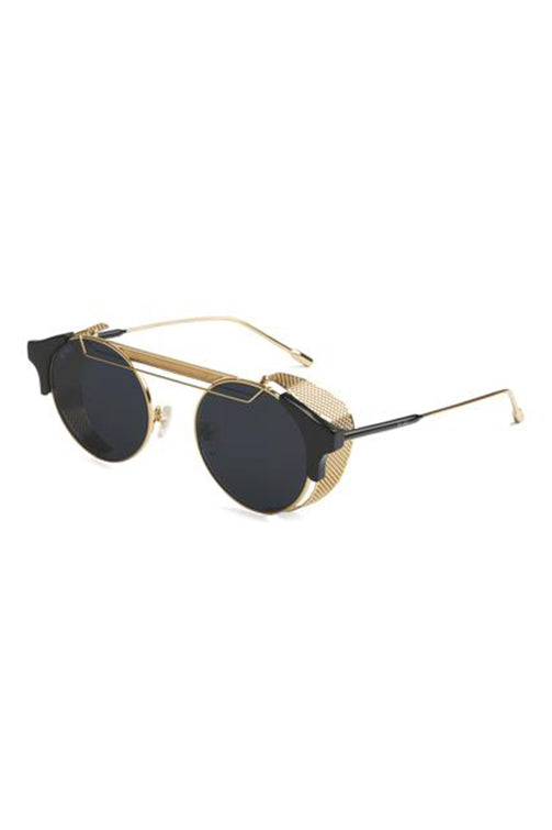 9Five Sunglasses - 88 Black and Gold Angle