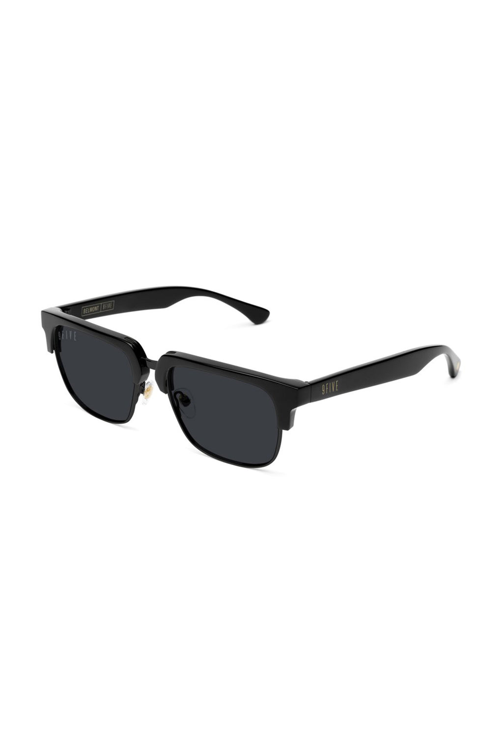 9Five Sunglasses - Belmont Matte Black