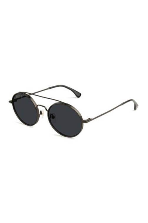 9Five Sunglasses - 50/50 Gunmetal Angle