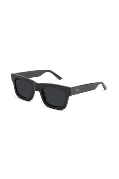 9Five Sunglasses - Ayden Black Angle