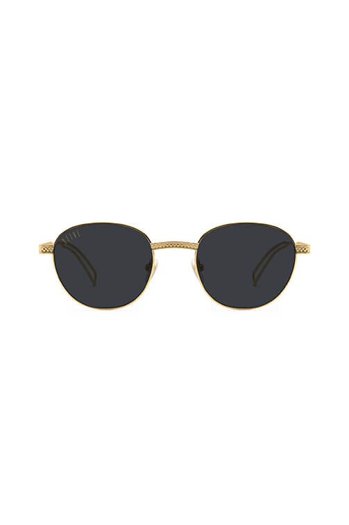 9Five Sunglasses - Dime Gold Front