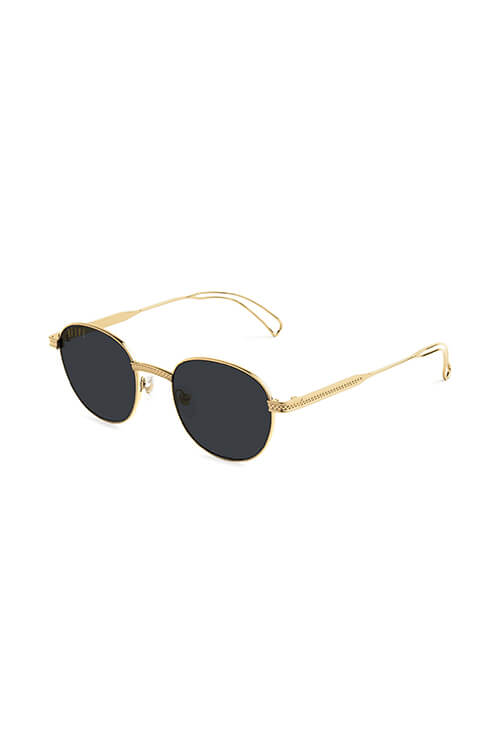 9Five Sunglasses - Dime Gold Angle