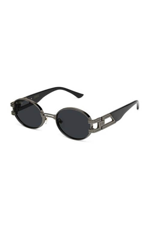 9Five Sunglasses - St. James Gunmetal Angle