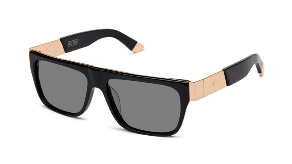 9Five Sunglasses - 22 Glasses Black Gold Polarised