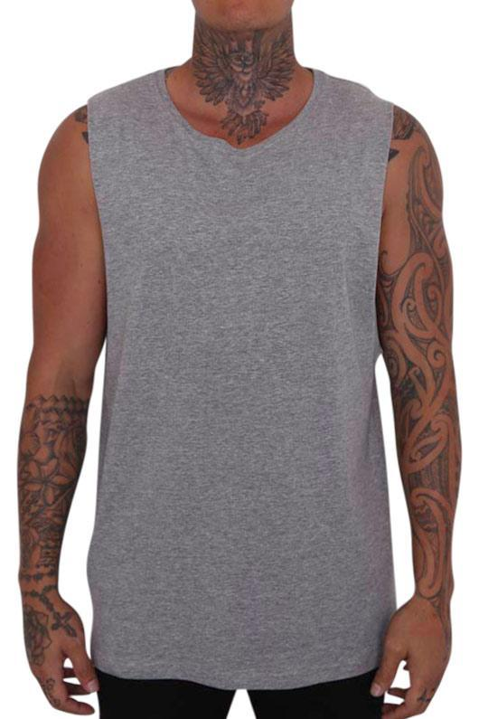 As Colour Barnard Tank Grey
