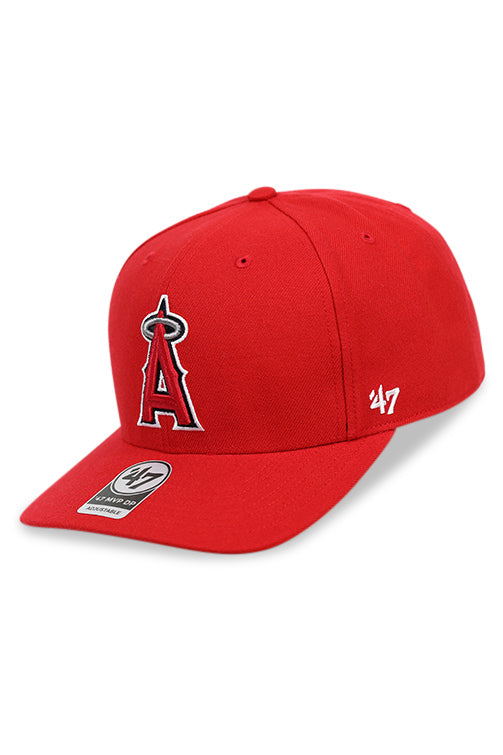 47 Brand LA Angels Red Cold Zone MVP DP Snapback Angle