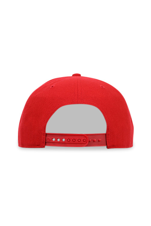 47 Brand LA Angels Red Cold Zone MVP DP Snapback Back