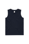 As Colour Youth Barnard Tank Black Front