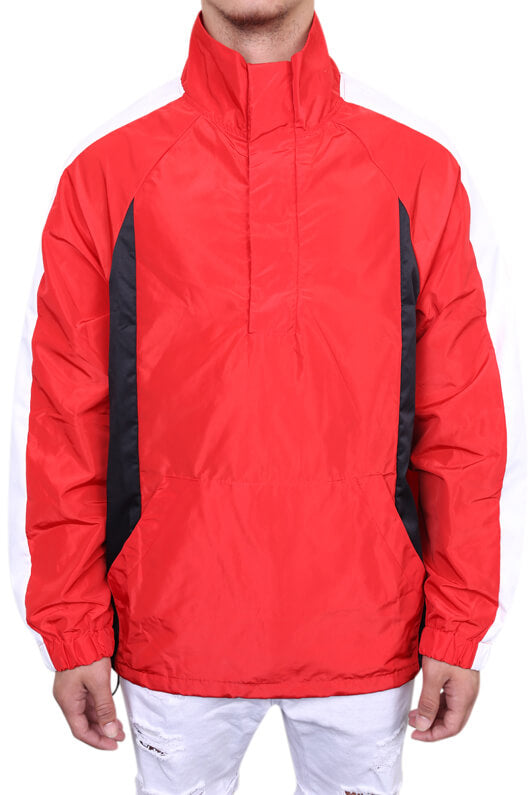 Chinga Midnight Jacket Red Front