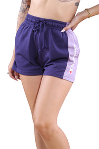 Champion French Terry CBLK Short Purple Detail
